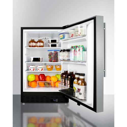 "20"" Wide Built-in All-refrigerator, ADA Compliant"