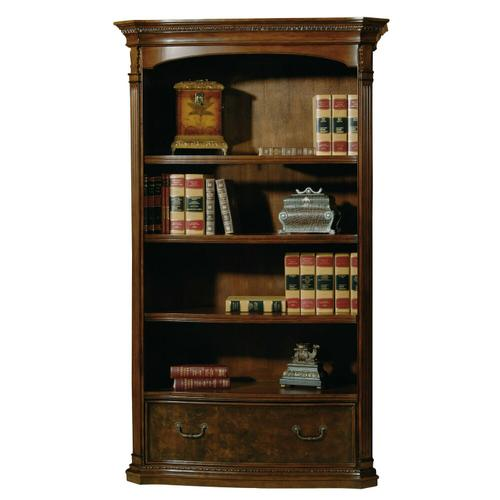 7-9164 office@home Old World Walnut Bookcase