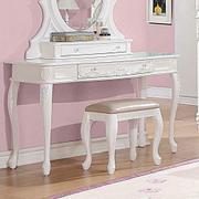 Caroline White Vanity Desk Product Image