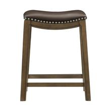 See Details - 24 Counter Height Stool, Brown