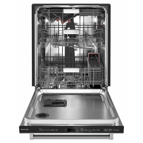 KitchenAid - 44 dBA Dishwasher in PrintShield™ Finish with FreeFlex™ Third Rack - Stainless Steel with PrintShield™ Finish