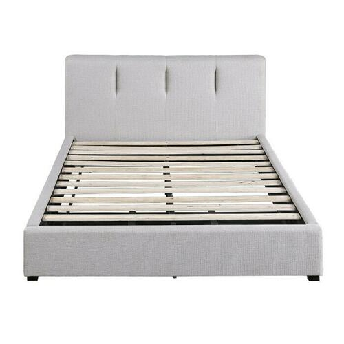 Eastern King Platform Bed with Storage Drawer