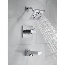 Chrome Monitor ® 17 Series H 2 Okinetic ® Tub and Shower Trim