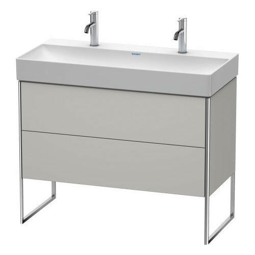 Vanity Unit Floorstanding, For Durasquare # 235310concrete Gray Matte (decor)