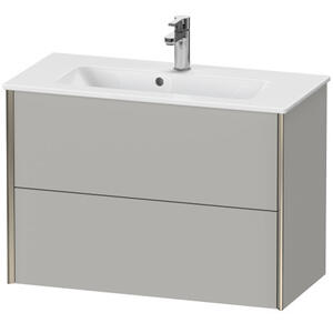 Duravit - Vanity Unit Wall-mounted Compact, Concrete Gray Matte (decor)
