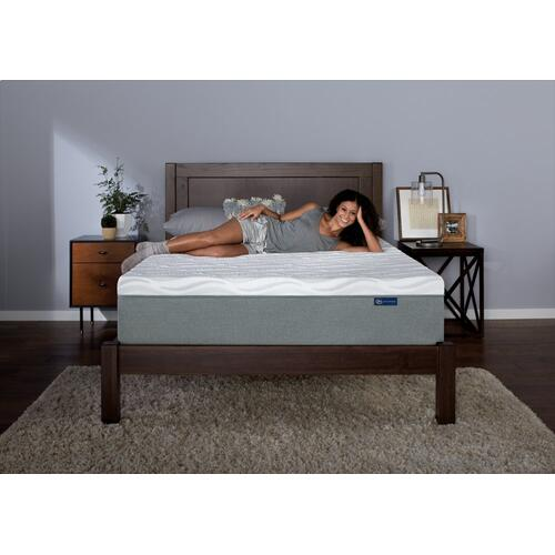 "Premium Mattress - 12"" - Gel Memory Foam - Cal King"
