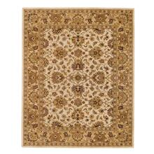 Mumtaz-Meshed Ivory Champagne Hand Tufted Rugs