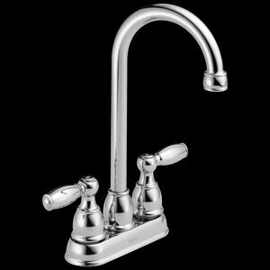 Chrome Two Handle Bar / Prep Faucet Product Image