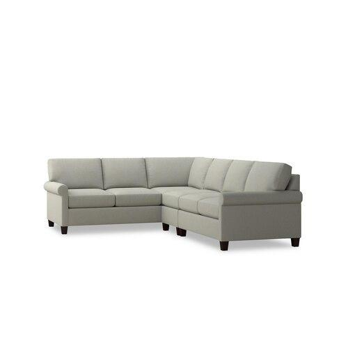 Bone Spencer Large L-Shaped Sectional