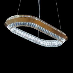 Base Camp Oval LED Chandelier