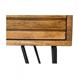 Shutter 1-Drawer Nightstand