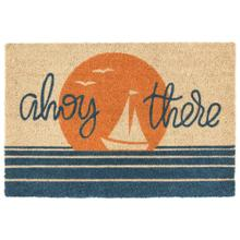 Doormat Ahoy There Sunset/Blue 24x36