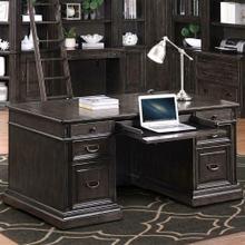 See Details - WASHINGTON HEIGHTS Double Pedestal Executive Desk