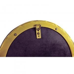 Lozenge Mirror/Iron+Tinted Glass/Antique Brass/36*1.5*15
