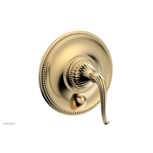 GEORGIAN & BARCELONA Pressure Balance Shower Plate with Diverter and Handle Trim Set PB2141TO - Satin Brass