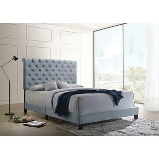 Trinity Queen Bedframe Blue