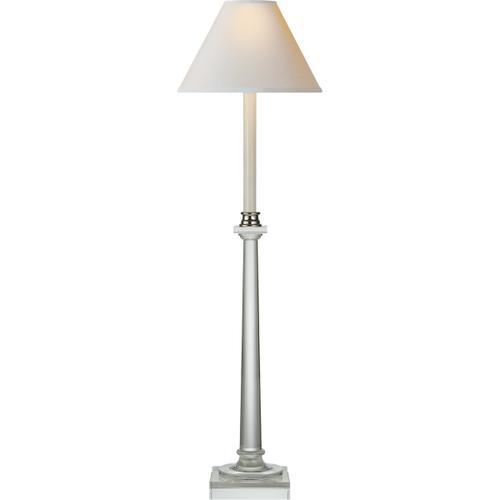 Visual Comfort - E. F. Chapman Swedish Column 34 inch 60.00 watt Crystal Decorative Table Lamp Portable Light