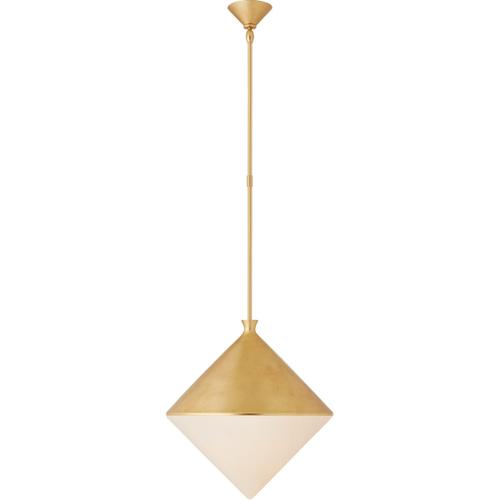 AERIN Sarnen LED 18 inch Gild Pendant Ceiling Light, Large