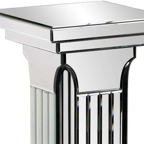 Howard Elliott - Mirrored Doric Style Pedestal