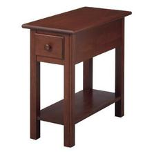 View Product - Chairside Table with Drawer & Shelf