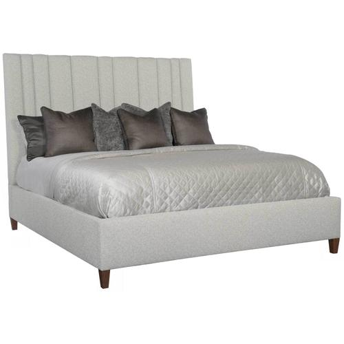 Bernhardt Interiors - King-Sized Modena Upholstered Bed in Espresso