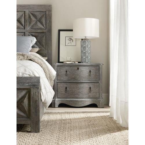 Bedroom Beaumont Two-Drawer Nightstand