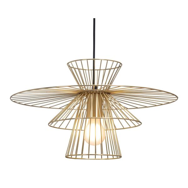 See Details - Azzi Ceiling Lamp Gold
