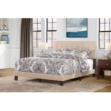 Delaney King Upholstered Bed, Linen