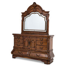 Storage Console- Dresser & Mirror 2pc