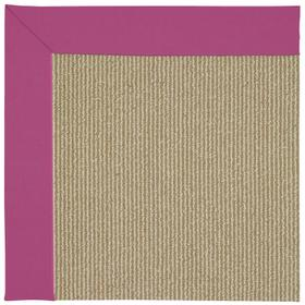 Creative Concepts-Sisal Canvas Hot Pink Machine Tufted Rugs