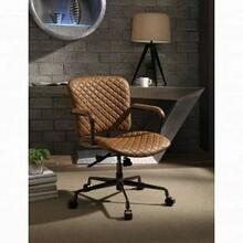 ACME Josi Executive Office Chair - 92029 - Coffee Top Grain Leather