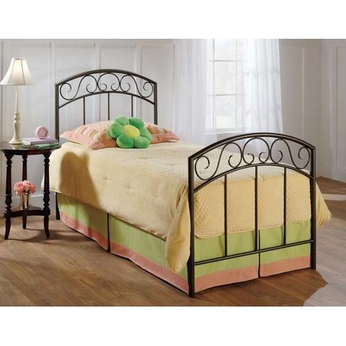 Wendell Twin Duo Panel Bed Set Copper Pebble - Must Order 2 Panels for Complete Bed Set
