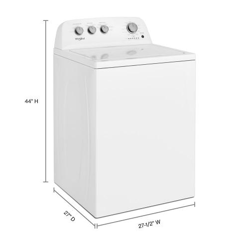 Whirlpool - 3.9 cu. ft. Top Load Washer with Soaking Cycles, 12 Cycles