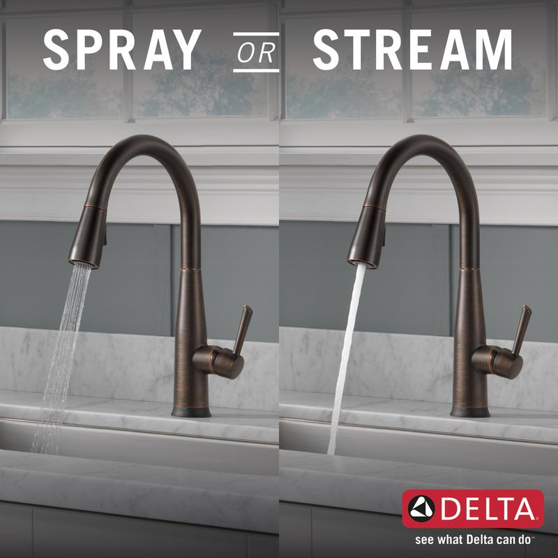 Delta Faucet Company 9113trbdst Studio41 Venetian Bronze Single Handle Pull Down Kitchen Faucet With Touch 2 O Technology