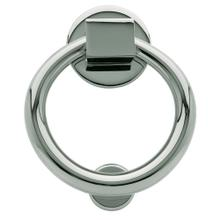 Polished Chrome Ring Knocker