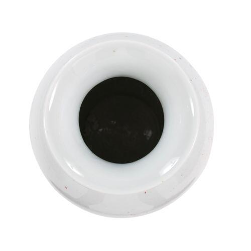 Howard Elliott - Gray and White Soap Bubble Porcelain Vase, Large