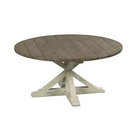 Reclamation Place Trestle Round Cocktail Table