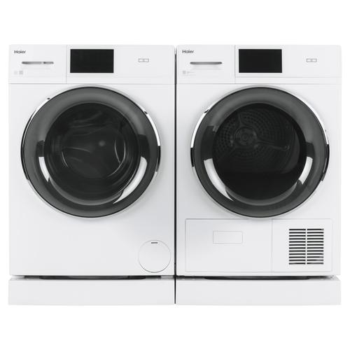 """4.1 cu.ft. Capacity Smart 24"""" Ventless Condenser Frontload Electric Dryer with Stainless Steel Basket"""