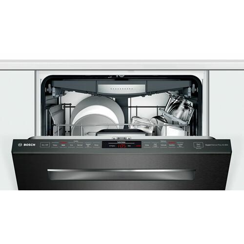 800 Series Dishwasher 24'' Black stainless steel, XXL SHPM78Z54N