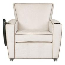 View Product - Payton Lounge Chair with Casters, Tablet, UV-C
