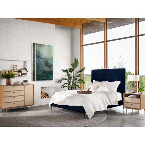 """King Size Plush Navy Cover Rennie Bed - 60"""""""