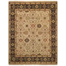 Biltmore Classics-Kuba Beige Black - Rectangle - 6' x 9'