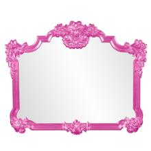 View Product - Avondale Mirror - Glossy Hot Pink