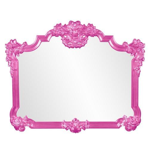 Howard Elliott - Avondale Mirror - Glossy Hot Pink