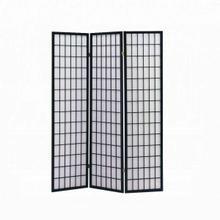ACME Naomi 3-Panel Room Divider - 02284 - Black