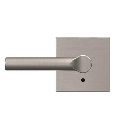 Custom Broadway Non-Turning Lever with Collins Trim - Satin Nickel