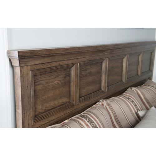Forest Hills Panel Bed w/Storage Footboard, King 6/6