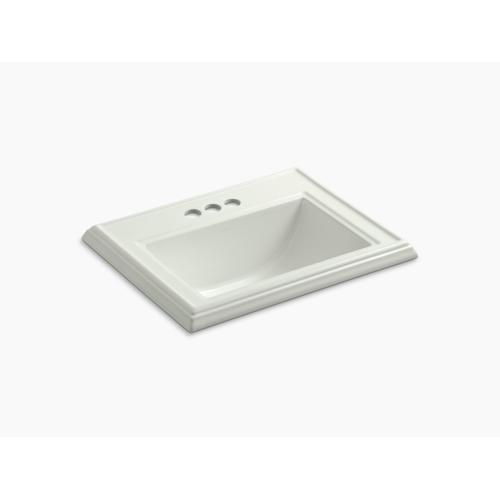 """Dune Classic Drop-in Bathroom Sink With 4"""" Centerset Faucet Holes"""