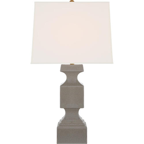 Visual Comfort - E. F. Chapman Finley 32 inch 100 watt Shellish Gray Table Lamp Portable Light, Large