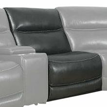See Details - COLOSSUS - NAPOLI GREY Power Armless Recliner